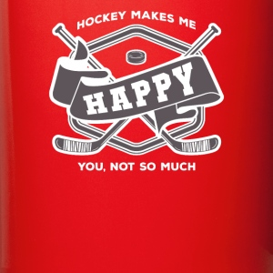 Hockey makes me happy Hockey Player T-shirt Mugs & Drinkware - Full Color Mug