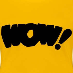 Wow! remix - Women's Premium T-Shirt