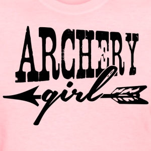 Archery Girl Shirts - Women's T-Shirt