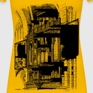 Organ Case in the Cathedral of Tarragona - Women's Premium T-Shirt