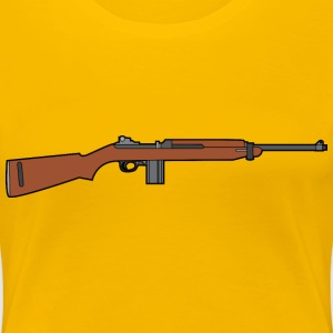 M1 Carbine rifle - Women's Premium T-Shirt