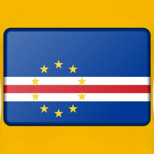 Cape Verde flag (bevelled) - Women's Premium T-Shirt