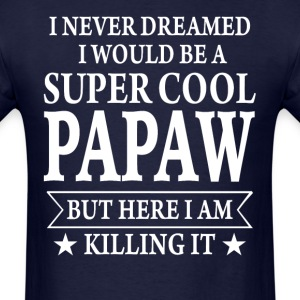 Super Cool Papaw - Men's T-Shirt