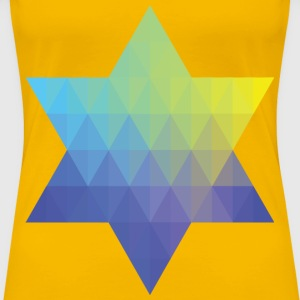 Geometric Star III - Women's Premium T-Shirt