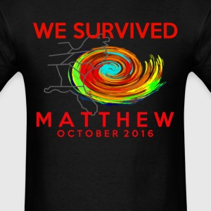 WE SURVIVED MATTHEW  T-Shirts - Men's T-Shirt