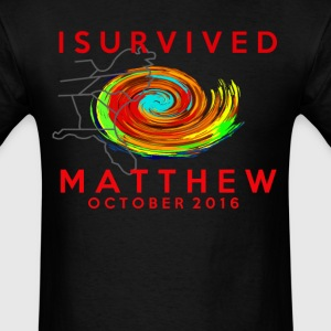I survived hurricane matthew T-Shirts - Men's T-Shirt
