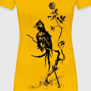 Ragged bird - Women's Premium T-Shirt