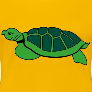 Turtle 2 - Women's Premium T-Shirt