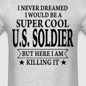 Super Cool U.S. Soldier - Men's T-Shirt