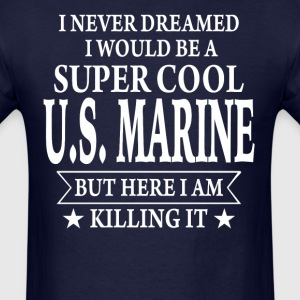 Super Cool U.S. Marine - Men's T-Shirt