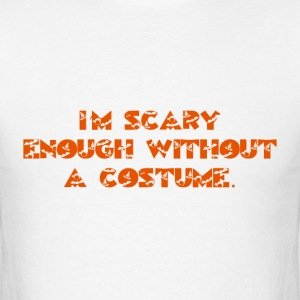 Scary Enough - Men's T-Shirt