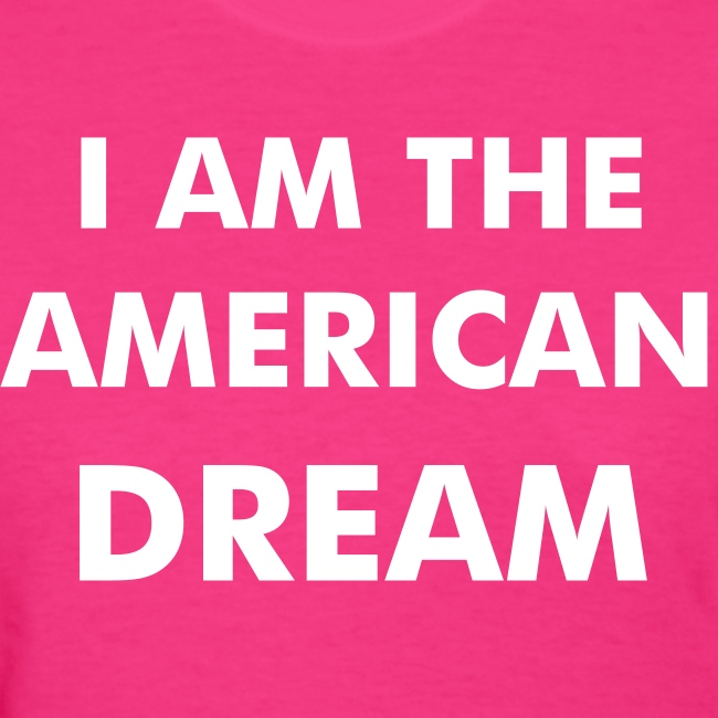 Britney Spears T-shirt - I AM THE AMERICAN DREAM