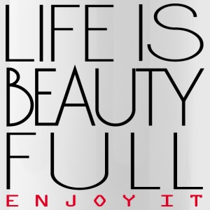 Life is beautiful Sportswear - Water Bottle