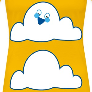 Anthropomorphic Cloud - Women's Premium T-Shirt