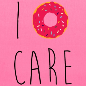 I Donut Care Funny Quote Bags & backpacks - Tote Bag