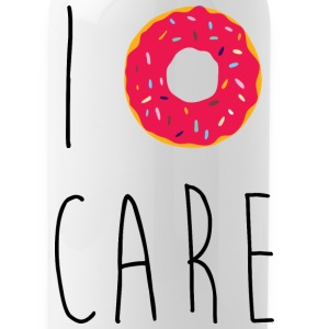 I Donut Care Funny Quote Sportswear - Water Bottle