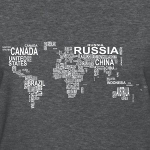 World Map T-Shirts - Women's T-Shirt