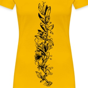 Flowering plant - Women's Premium T-Shirt