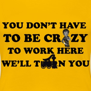 Crazy Train - Women's Premium T-Shirt