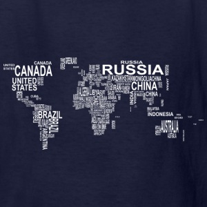 World Map Kids' Shirts - Kids' T-Shirt
