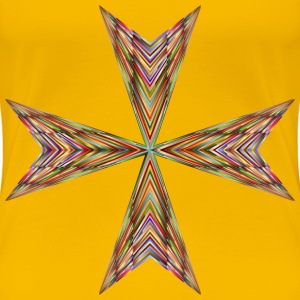 Vibrant Maltese Cross - Women's Premium T-Shirt