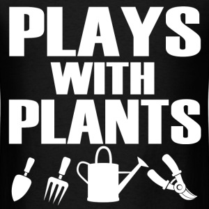 PLAYS WIT PLANTS2.png T-Shirts - Men's T-Shirt