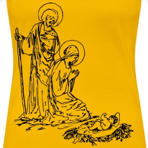 Classic Nativity - Women's Premium T-Shirt