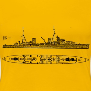 Arethusa Battleship - Women's Premium T-Shirt