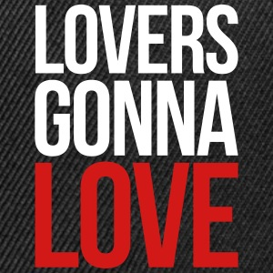 Lovers Gonna Love Funny Quote Sportswear - Snap-back Baseball Cap