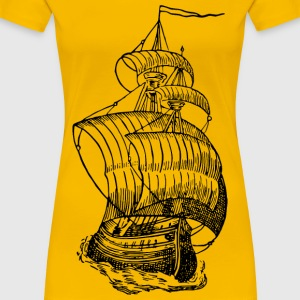 Sailing ship 7 - Women's Premium T-Shirt