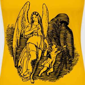 Angel and devil - Women's Premium T-Shirt