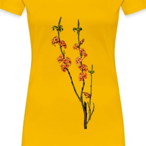 February Daphne (detailed) - Women's Premium T-Shirt