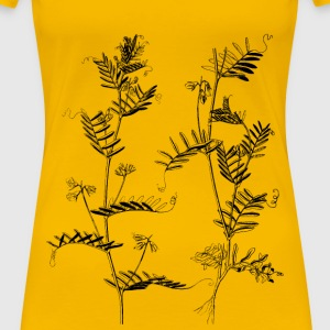 Lentil plants - Women's Premium T-Shirt