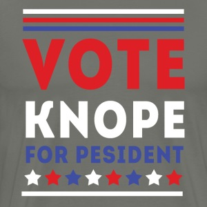 Parks and Recreation Vote Knope TV & Movie T-shirt T-Shirts - Men's Premium T-Shirt