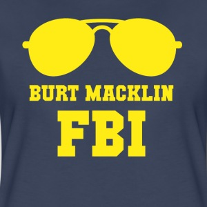 Parks and Recreation Burt Macklin FBI TV & Movies  T-Shirts - Women's Premium T-Shirt