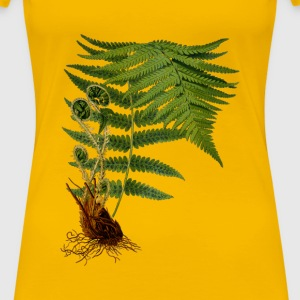 Male fern 2 (detailed) - Women's Premium T-Shirt
