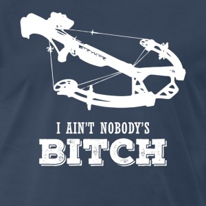 TWD I Ain't Nobody's Bitch TV & Movies T-shirt T-Shirts - Men's Premium T-Shirt