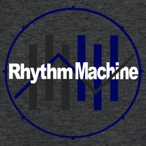 Rhythm Machine  - Fitted Cotton/Poly T-Shirt by Next Level