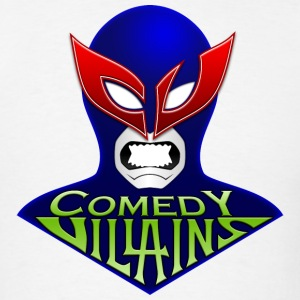 Men's Comedy Villains T-Shirt - Men's T-Shirt