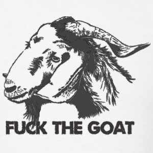 Fuck the Goat - Men's T-Shirt