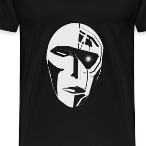 Face-02 - Men's Premium T-Shirt