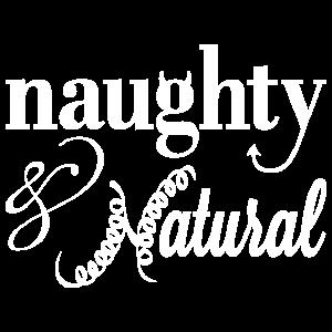 Naughty & Natural T-Shirt (White)
