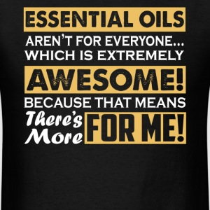 Essential Oils Shirt - Men's T-Shirt