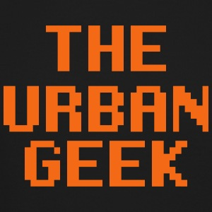 The Urban Geek Orange - Crewneck Sweatshirt
