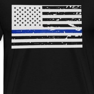 The Thin Blue Line Shirt - Men's Premium T-Shirt