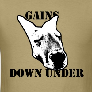 Aussie Gains Workout Tee - Men's T-Shirt