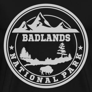 BADLANDS11.png T-Shirts - Men's Premium T-Shirt