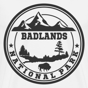 BADLANDS12.png T-Shirts - Men's Premium T-Shirt