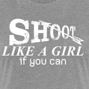 Archery Shirts for Girl - Women's Premium T-Shirt