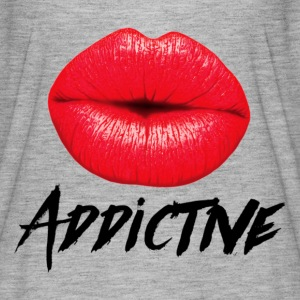 Red Lips Lipstick Addictive  T-Shirts - Women's Flowy T-Shirt